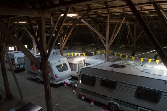 Caravanstalling, camperstalling, vouwwagenstalling of bootstalling - De Holterij